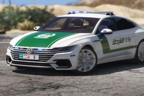 [Add-on | OIV] 2018 Volkswagen Arteon Dubai Police